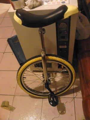 【強強二手商品】健身車 單輪車 獨輪車 高低可調 21吋