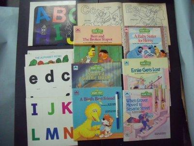 【姜軍府童書館】《芝麻街美語一套》SESAME STREET A GROWING-UP BOOK 兒童英文英語故事 大鳥
