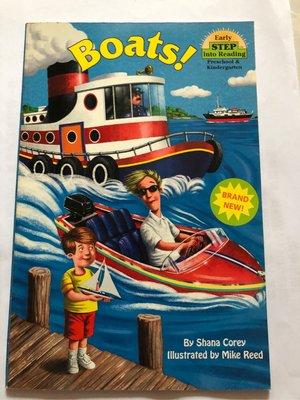 Boats 兒童英文閱讀繪本