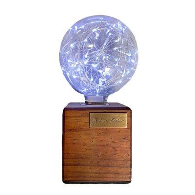 【曙muse】松木USB桌燈  可調光 造型檯燈 Loft 鄉村工業風 原木