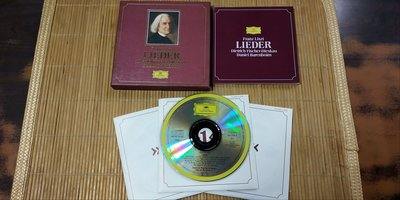 好音悅 半銀圈 費雪狄斯考 巴倫波英 李斯特 藝術歌曲集 Liszt Lieder 3CD DG 德PMDC01版