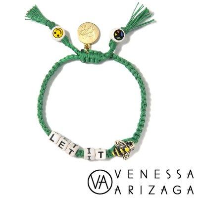 Venessa Arizaga 台北ShopSmart直營店 LET IT BEE 綠色手鍊