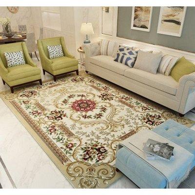 (壹時尚) 歐式美式客廳沙發地毯臥室床邊滿鋪宮廷家用加厚茶幾墊