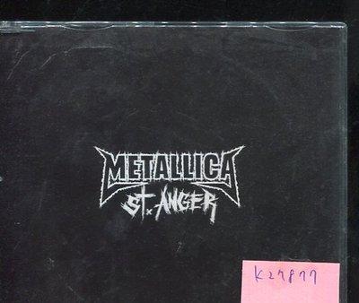*真音樂* METALLICA / ST ANGER 二手 K27877