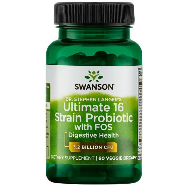 【活力小站】Swanson Ultimate 16 Strain Probiotic 16種益生菌60顆