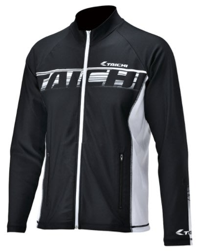 【亞駒部品】日本RS TAICHI RSU295 COOL RIDE ZIP INNER JACKET 白 €全新正品