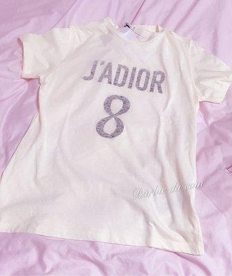 Dior J'ADIOR T shirt 全新 正品 白