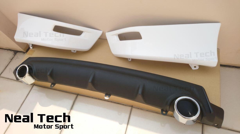 全新含烤漆 Altis 11代 11.5代 Z版 後下巴 含雙出 尾飾管 空力套件 改裝 14 15 16 17 18年