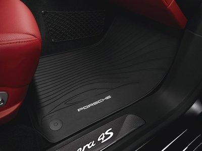 Porsche Rubber Floor Mats 原廠 腳踏墊 踏墊 ( 橡膠 ) New Panamera 971