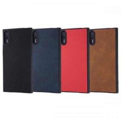 尼德斯Nydus 日本正版 四角包覆 TPU軟殼 雅痞風 Sony Xperia XZ XZS 手機殼 附吊飾孔