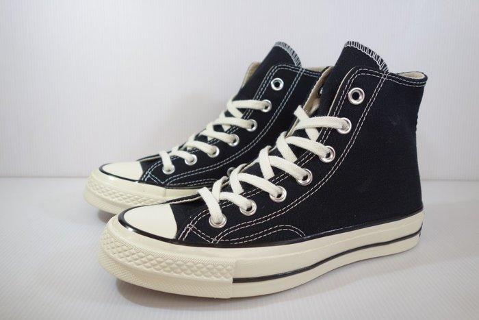 =小綿羊= CONVERSE ALL STAR 70 黑 高統 162050C 帆布鞋 1970 黑標 三星標 高幫
