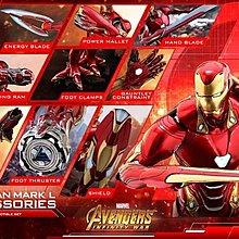 全新未開 hottoys Avengers3 mark50 Accessories ACS004 普通版