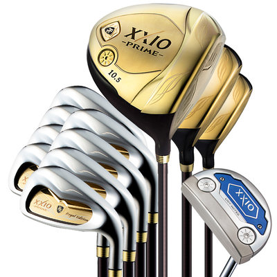 高爾夫球桿XXIO 新款 高爾夫球桿 男士套桿限量版 XX10 PRIME全套球桿
