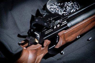 Speed千速(^_^)PCP 太極X 明鎚式空氣長槍  精工細作木托,口徑可隨意變換