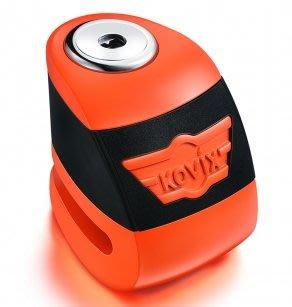官方直營店 KOVIX KA1 螢光橘   公司貨 送原廠收納袋+提醒繩 德國鎖心 碟煞鎖