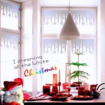 聖誕市集 雪景裝飾冰條 2片裝 可貼 ...