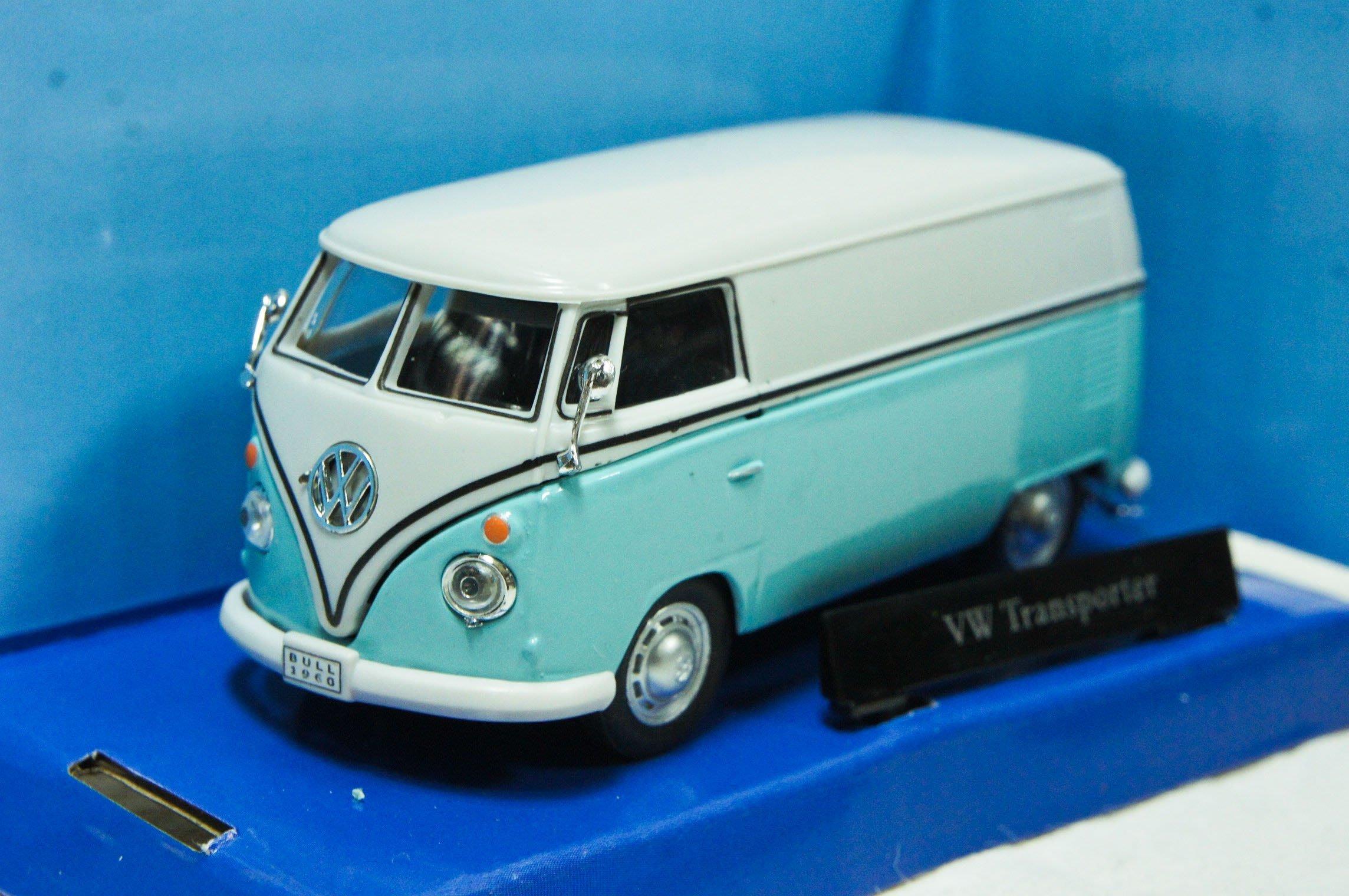 【現貨特價】 1:43 Cararama VW T1 Transporter 藍色貨車