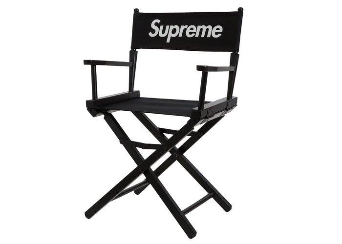 沃皮斯§Supreme Director's Chair 黑 導演椅