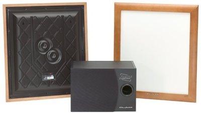 英國Wharfedale PPX-1 平面相框喇叭+超低音PPS-1