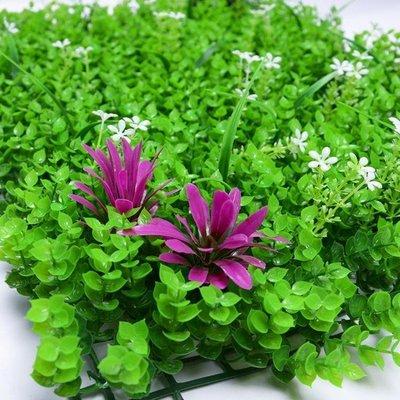 仿真草坪墊子假草皮人造塑膠人工綠色植物牆綠植牆室內裝飾 新品特賣