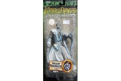 TOY BIZ LORD OF THE RINGS TWILIGHT RINGWRAITH WITH SWORD 魔戒首部曲 戒靈王 (LOTR-81378)