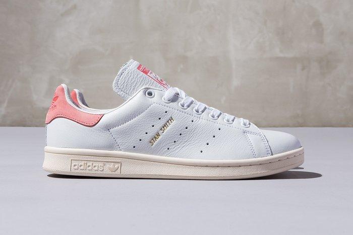 ☆AirRoom☆【現貨】Adidas Originals STAN SMITH 金標 奶油底 白鞋 粉紅 s80024