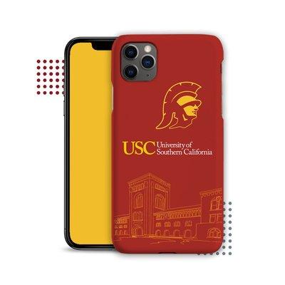 甜美3C配件~USC南加州大學手機殼se8p蘋果XMAX適用iphone11PRO華為P40mate30