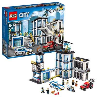 【預購+免運費】LEGO樂高城市警察局拼插積木玩具60110 60174 60141 60167 60107