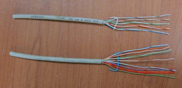通信電纜0.5-7P(7對)電纜線50米