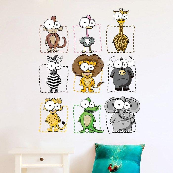 現貨/門貼ins墻紙自粘卡通墻貼兒童臥室墻壁貼畫房間裝飾墻貼紙墻畫173SP5RL/ 最低促銷價