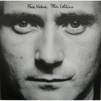 美國二手黑膠Phil Collins ─ Face Value 保存良好 1981