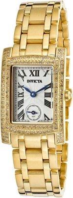 展示品 Invicta 15628 Angel Seconds Diamond Accented Swiss Stainless Steel Wome
