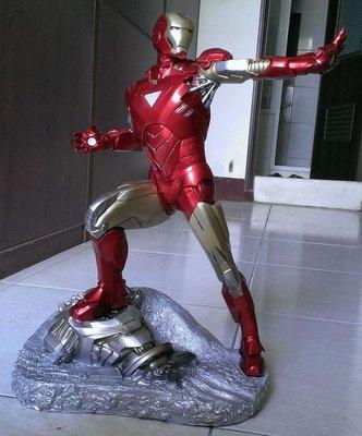 鋼鐵人 1 : 4 馬克 6 全身雕像