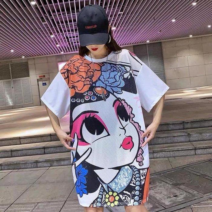 貓姐的團購中心~有大尺碼~F0568 京劇Q版娃娃短袖T恤~M-4XL一件390元~預購款