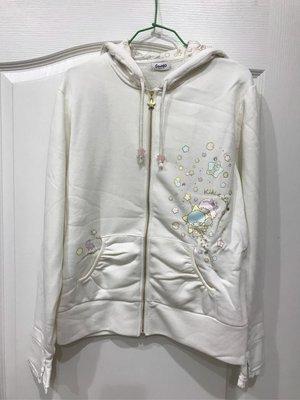 *凱西小舖*日本進口三麗歐正版 雙子星KIKI LALA 棉質連帽外套