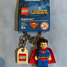 全新 Lego 樂高 Super Heros Superman Keychain 超人鎖匙扣 聖誕禮物 Christmas Gift Xmas