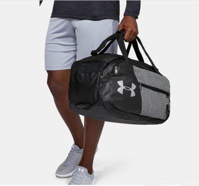 【SL美日購】UA Undeniable Duffel 4.0 SMALL 行李袋 灰色 旅行袋 1342656-040