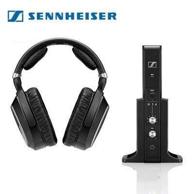 德國 SENNHEISER 森海 RS 195 無線耳罩式耳機 旗艦無線耳機組 公司貨 保固兩年