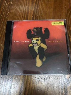 *還有唱片三館* FALL OUT BOY / FOLIE A DEUX 二手 ZZ0637 (封面底破、CD缺口)