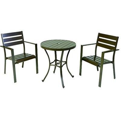 【紅豆戶外休閒傢俱】背三鋁合金塑木桌椅組 一桌二椅 庭園桌椅 咖啡廳桌椅 餐廳桌椅 中庭桌椅 民宿桌椅 農場桌椅