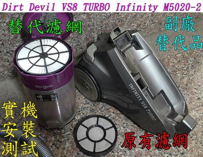 【副廠】Dirt Devil VS8 TURBO Infinity M5020-2 吸塵器 紫色【替代品可接受在購買】