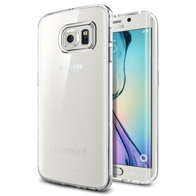 SPIGEN 三星 Samsung Galaxy S6 Edge Liquid Crystal 超輕薄型彈性保護殼 透明