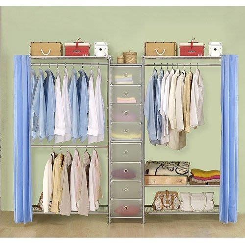 【中華批發網DIY家具】D-62A-07-W2型90+pp+W3型90衣櫥置物櫃-(前罩)不織布