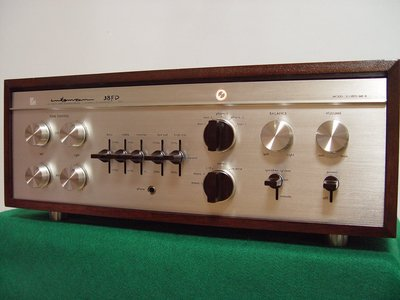 真善美音響維修買賣~一代名機 LUXMAN SQ38FD mk2高階真空管綜合擴大機 品相極佳
