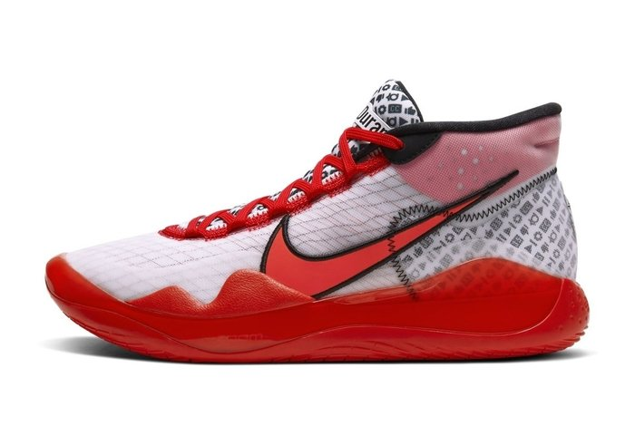 GOSPEL【Nike Zoom KD 12 'YouTube' 】紅白 CQ7734-900