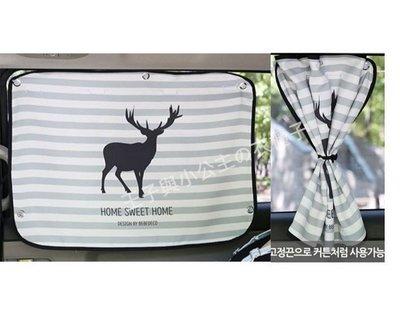✭ 正韓國 二入840. 汽車遮陽簾.汽車窗簾.山羊款. x2