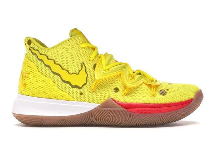 【美國鞋校】預購 NIKE Kyrie 5 X Spongebob 海綿寶寶 聯名款 CJ6951-700