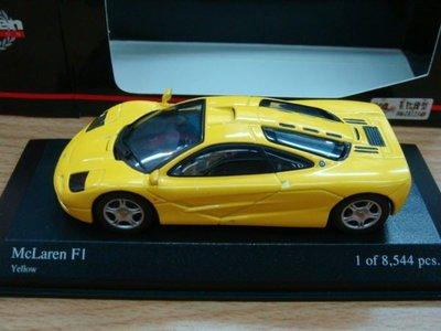 MINICHAMPS  MCLAREN F1 yellow  ~俗賣~