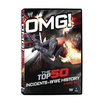 ☆阿Su倉庫☆WWE摔角 OMG! Top 50 Incidents in WWE History DVD 史上50大驚人時刻特輯 熱賣特價中