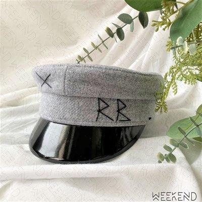 【WEEKEND】 現貨 RUSLAN BAGINSKIY RB 羊毛 貝雷帽 報童帽 帽子 灰色 經典款